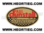 Paul Dunstall Suzuki Tank and Fairing Transfer Decal DDUN6-5